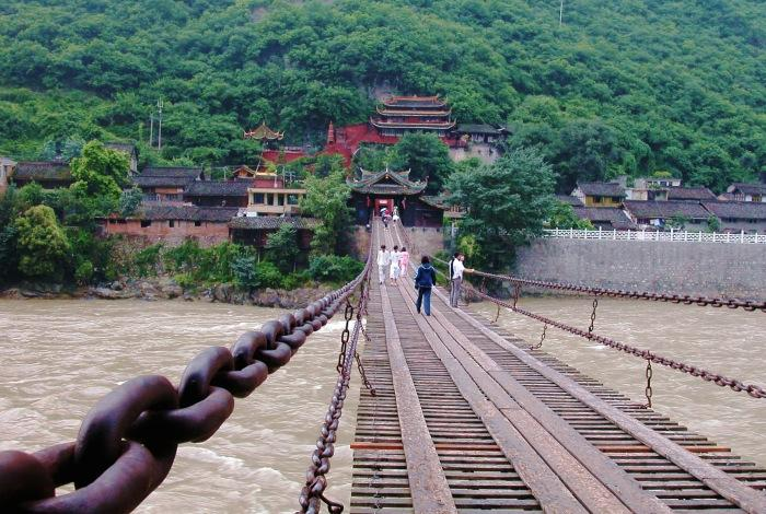 Luding bridge, Sichuan, Long March