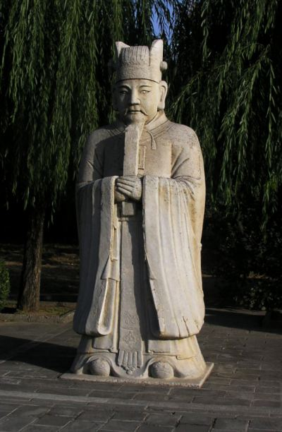 Ming tombs, statue, sacred way