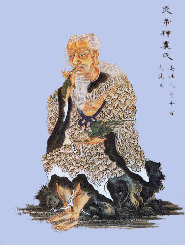 Shennong, legend, emperor, god