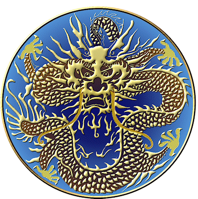 China dragon motif
